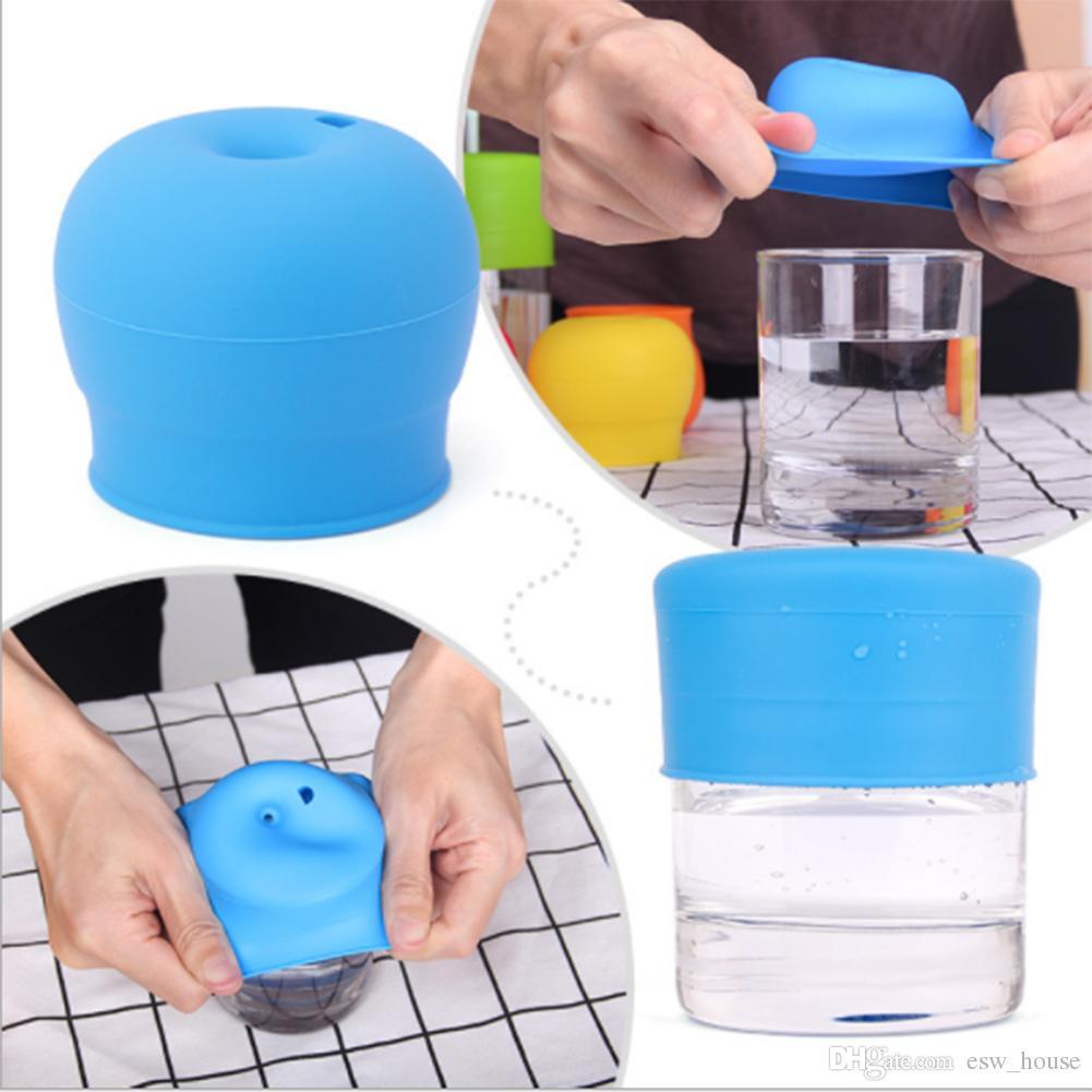 Силиконовые пищевой Сиппи крышка ниппель крышки для любого размера дети кружка малышей утечки Кубок для младенцев и малышей BPA бесплатно