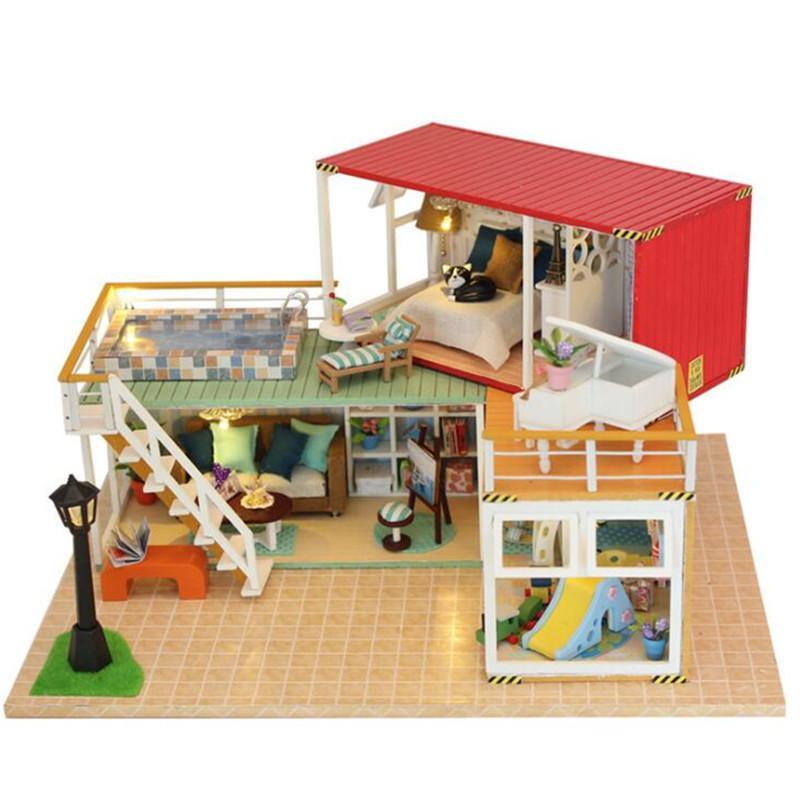 Child Craft Wood Dollhouse Crafting
