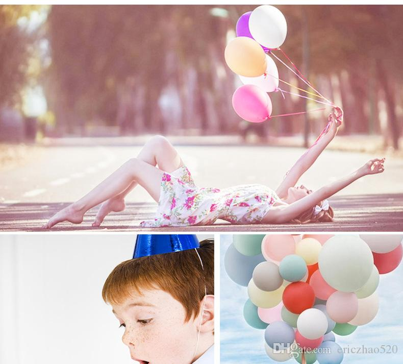 New Double Round 12 inch Latex Balloons New Novelty Wedding Birthday Anniversary Party Balloons Decoration Helium Inflatable Globos