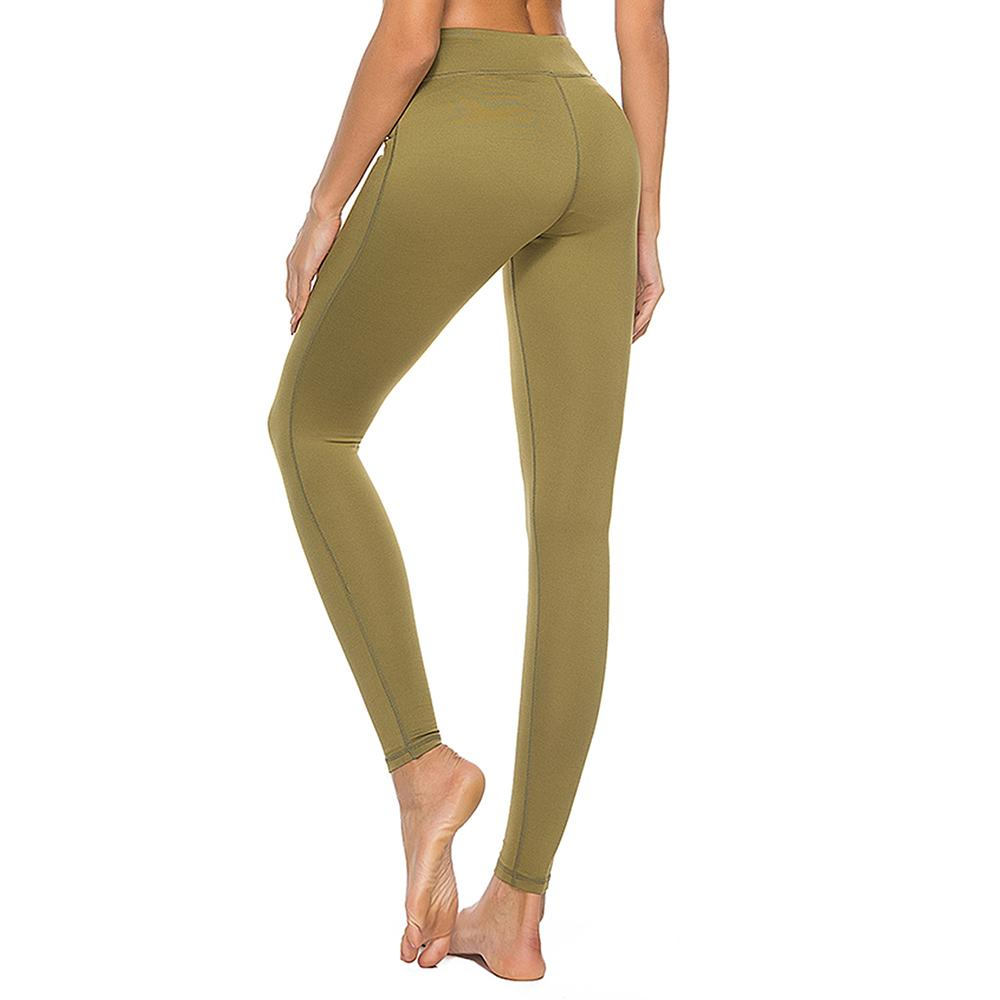 9220c77ab2 2019 Tight Yoga Pants For Women Petite Length High Waist Sports Jogger Yoga  Trousers Women Running Tights Leggings From Capsicum