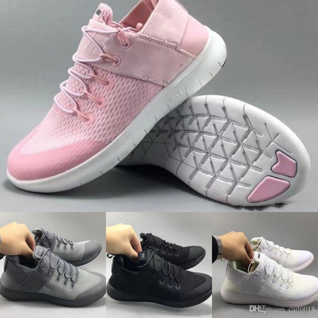 66f41c5513f 2019 Men Women Free Run 5.0 V Running Shoes Shoes Good Quality Lace Up Air  Mesh Breathable Sport Jogging Sneakers Shoes 2018 Outdoor Size 36 45 From  ...