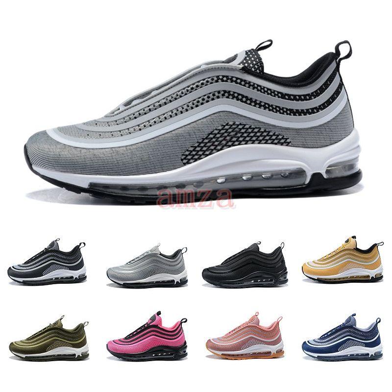 a7d9e0de4b8e 2018 Authentic 97 Ultra Running Shoes Brand Luxury Designer Mens 97s ...