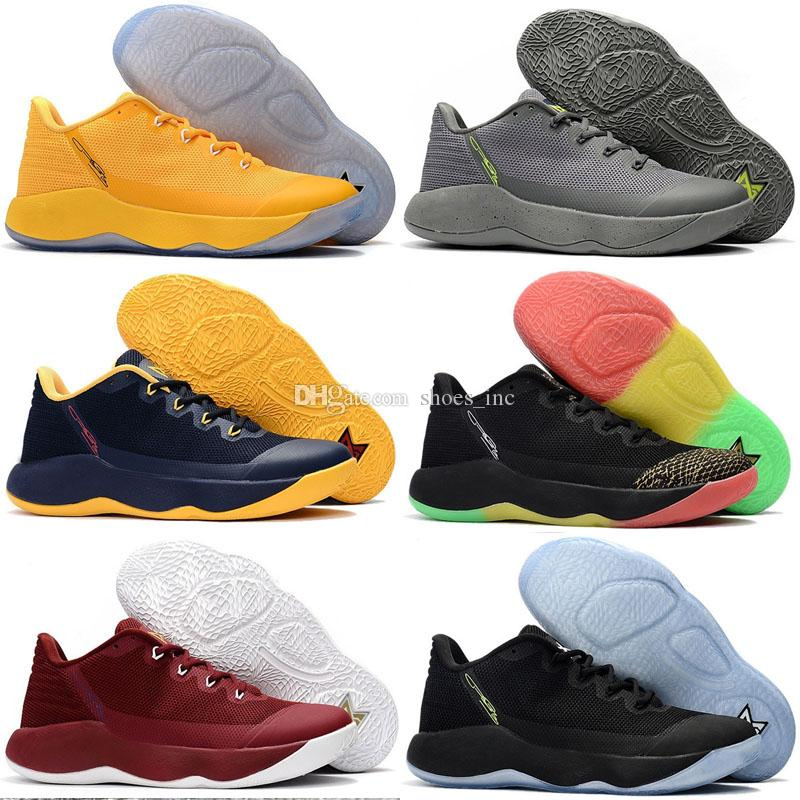 best website f0fa4 0ad78 2018 New Arrival Paul George 2 Wolf Grey Men s Basketball Shoes for Cheap  Sale PG 2s Sports Training Sneakers Size 40-46