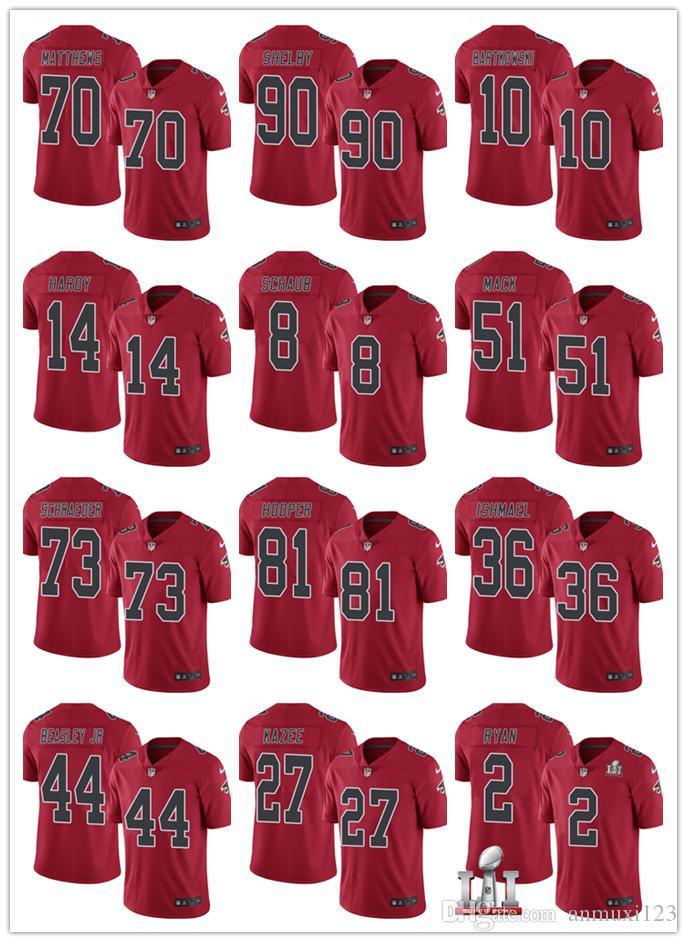 info for bea96 4a9e6 Atlanta Falcons Custom Jersey #45 Deion Jones 22 Keanu Neal 98 Takkarist  McKinley 21 Desmond Trufant 5 Andersen 97 Grady Jarrett jerseys