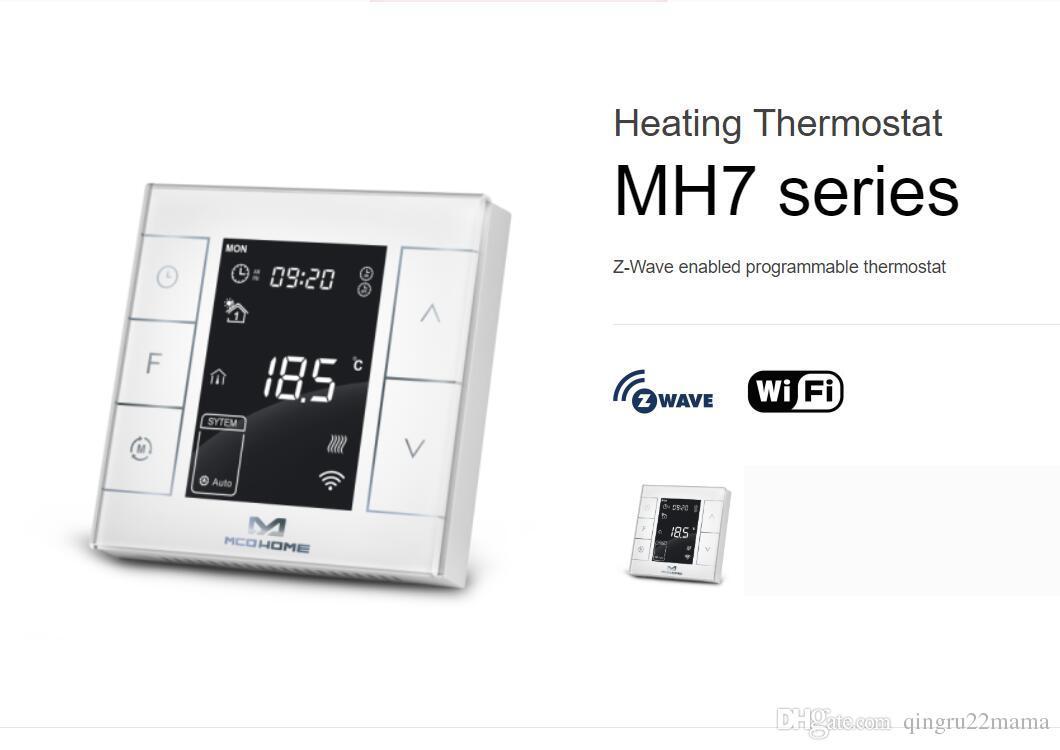 Programmierbarer Thermostat Neu getiedelt datiert Regeln