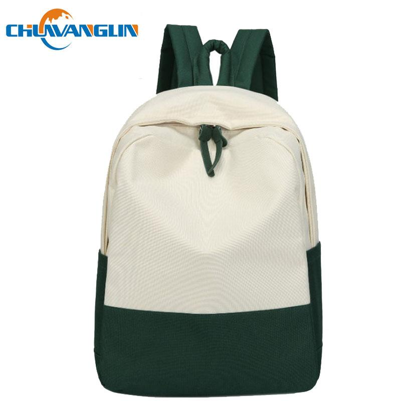 5730fd3b62 Chuwanglin Trend Women S Backpack Casual School Bags Fashion Patchwork  Daily Backpacks Junior High Student BagA0170 School Backpacks Cool Backpacks  From ...