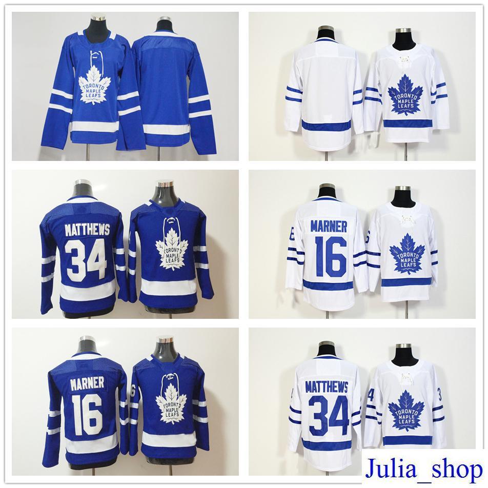 078f9e8b572 ebay best 2018 new season toronto maple leafs hockey jerseys 16 mitchell  marner 34 auston matthews