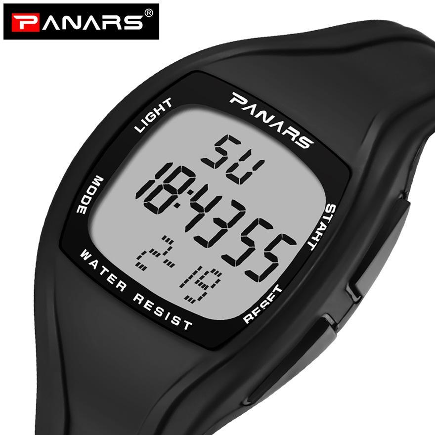 6038aa2c6 Compre PANARS Relogio Masculino Relógio Digital Homens Relógio De Pulso  Data Cronógrafo À Prova D 'Água Correndo Relógios Masculinos Montres  Esporte ...