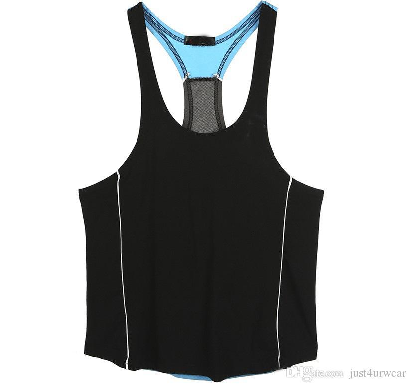 Débardeurs de musculation pour hommes Gilets sans manches d'été T-shirts Homme Vêtements T-shirts