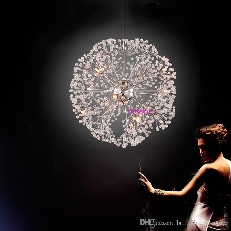 Modern led crystal pendant lighting led pendant lamp hanging lights modern led crystal pendant lighting led pendant lamp hanging lights over island chrome crystal lighting fixtures dining room pendant lamps hanging light aloadofball Images