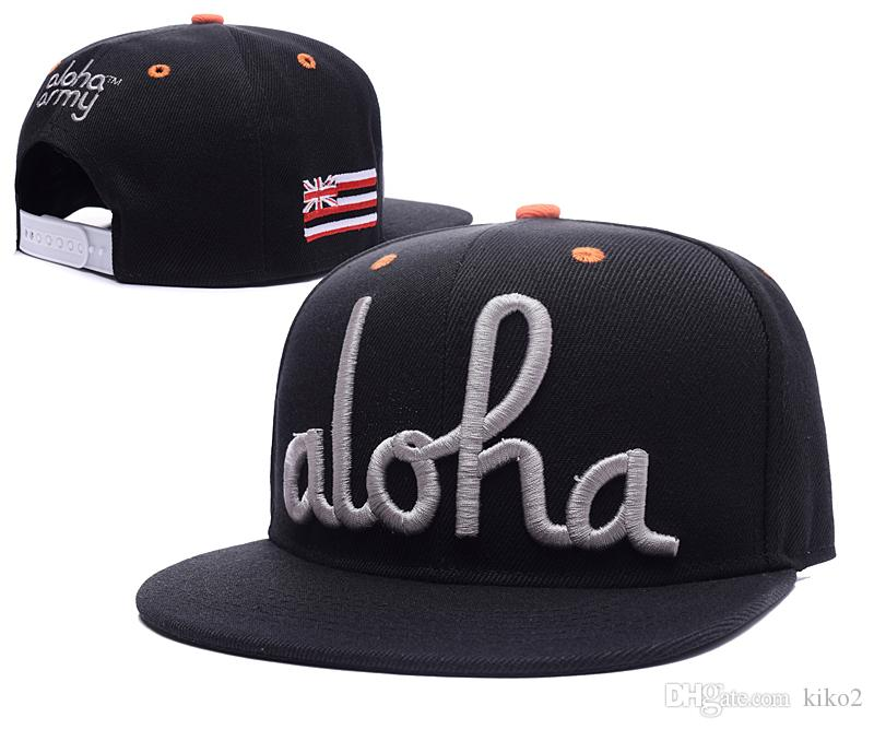 304665315 2018 In4mation Aloha Army Snapback Sport Hats Snapbacks Baseball Cap For  Men Women Snapback Hats Caps Top Quality Mix Order With