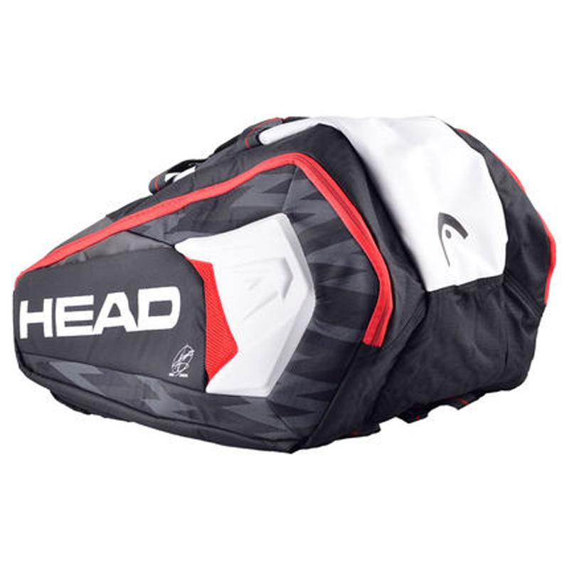 6e452926118 2019 Head Brand Tennis Bag Novak Djokovic Signature Tennis Racket Bag Large  Capacity 6 9 Racquets Racket Backpack Tenis From Comen