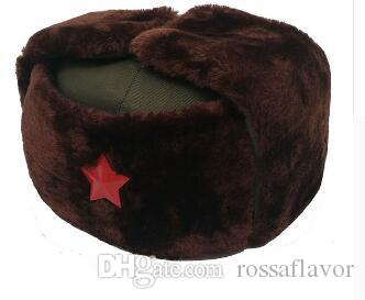 2019 Russian Hat Ushanka Bomber Hat Army Military Caps Mens Winter Hats Ear  Flaps Chapka Russe Homme Gorro Ruso Men Fur Hats From Rossaflavor 71560d86090