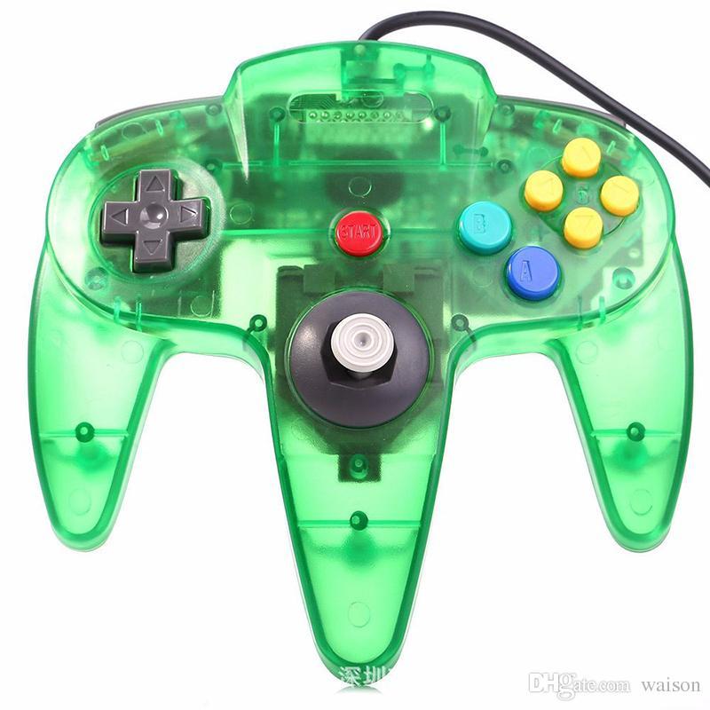 Проводной джойстик геймпад для Gamecube USB игры N64 контроллер с интерфейсом USB PC Mac Controle горячей продажи DHL