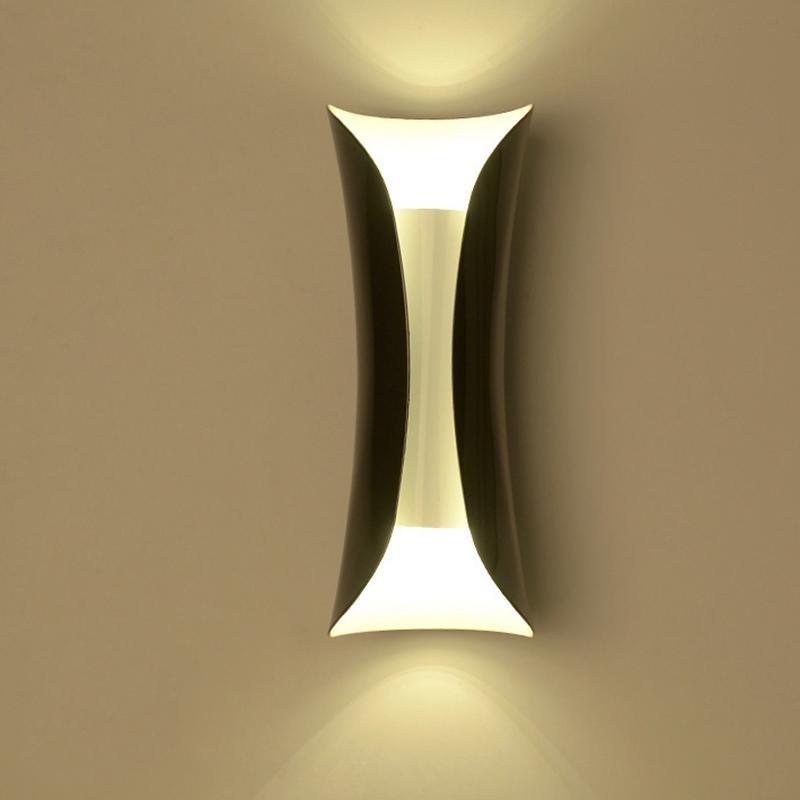 2018 Modern Aluminum Pipe Wall Lamp Art Deco Wall Light Led Lamp ...