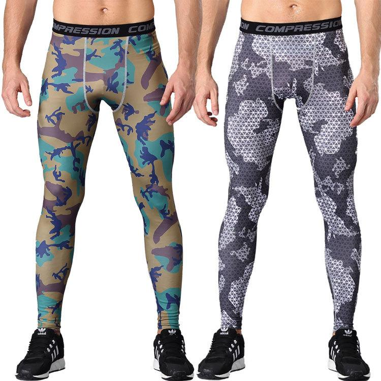 b9ce33ea259a7 2019 Men Yoga Pants Stretch Male Yoga Trousers Legging Tights Running  Jogging Fitness Gym Training Sport Track Sweat Pants Trousers From  Gqinglang, ...