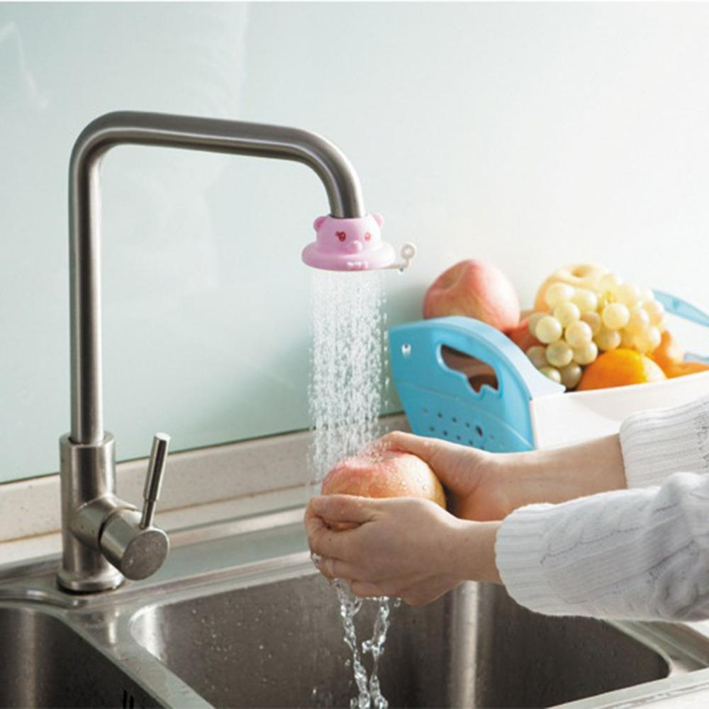 Faucet Extender fun Animals Kitchen Water saver Baby Kids Hand Washing Bathroom Sink Gift Shower Products Children Adult Sprayer