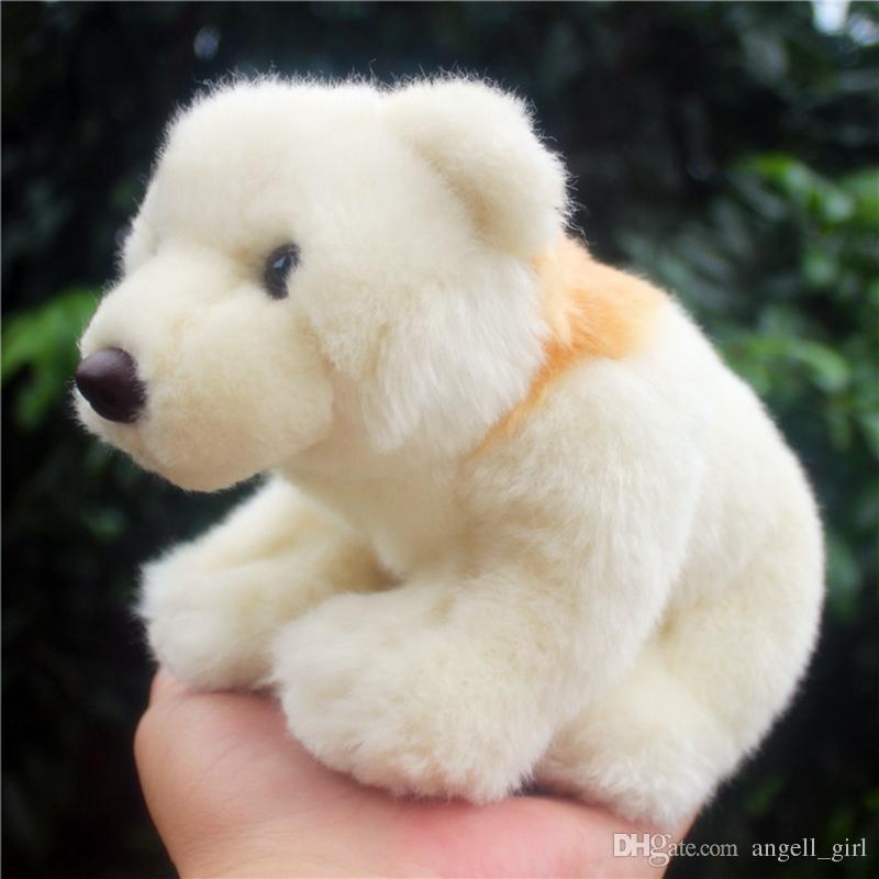 2019 Kawaii White Spirit Bear Stuffed Doll Polar Bear Dolls Plush