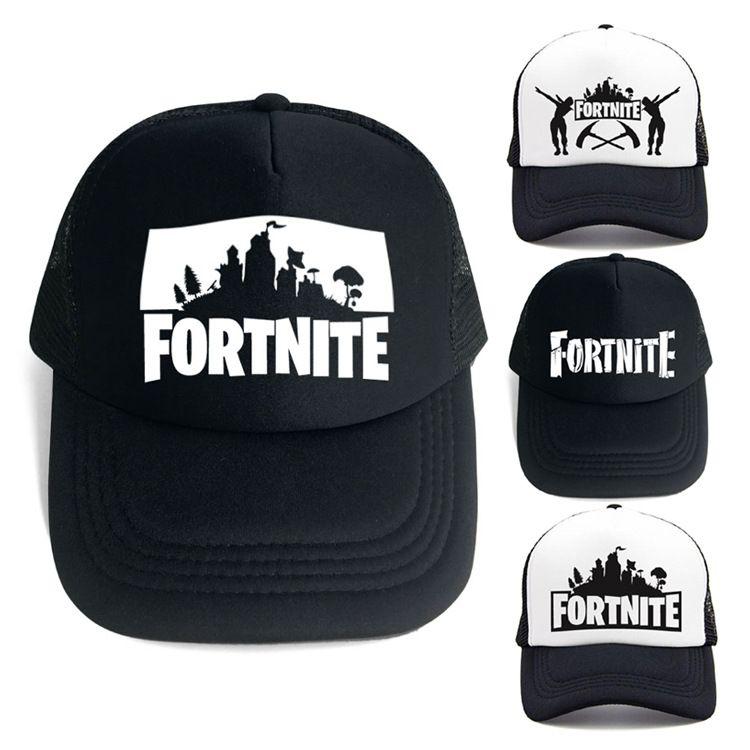 2018 New Fortnite Baseball Cap DIY Customize Printing Women Mesh Snapbacks  Casquette Designer Hat Dad Hat Bucket Fitted Hat Brand Hats Baseball Cap  Flat Cap ... 90ad2b698b2