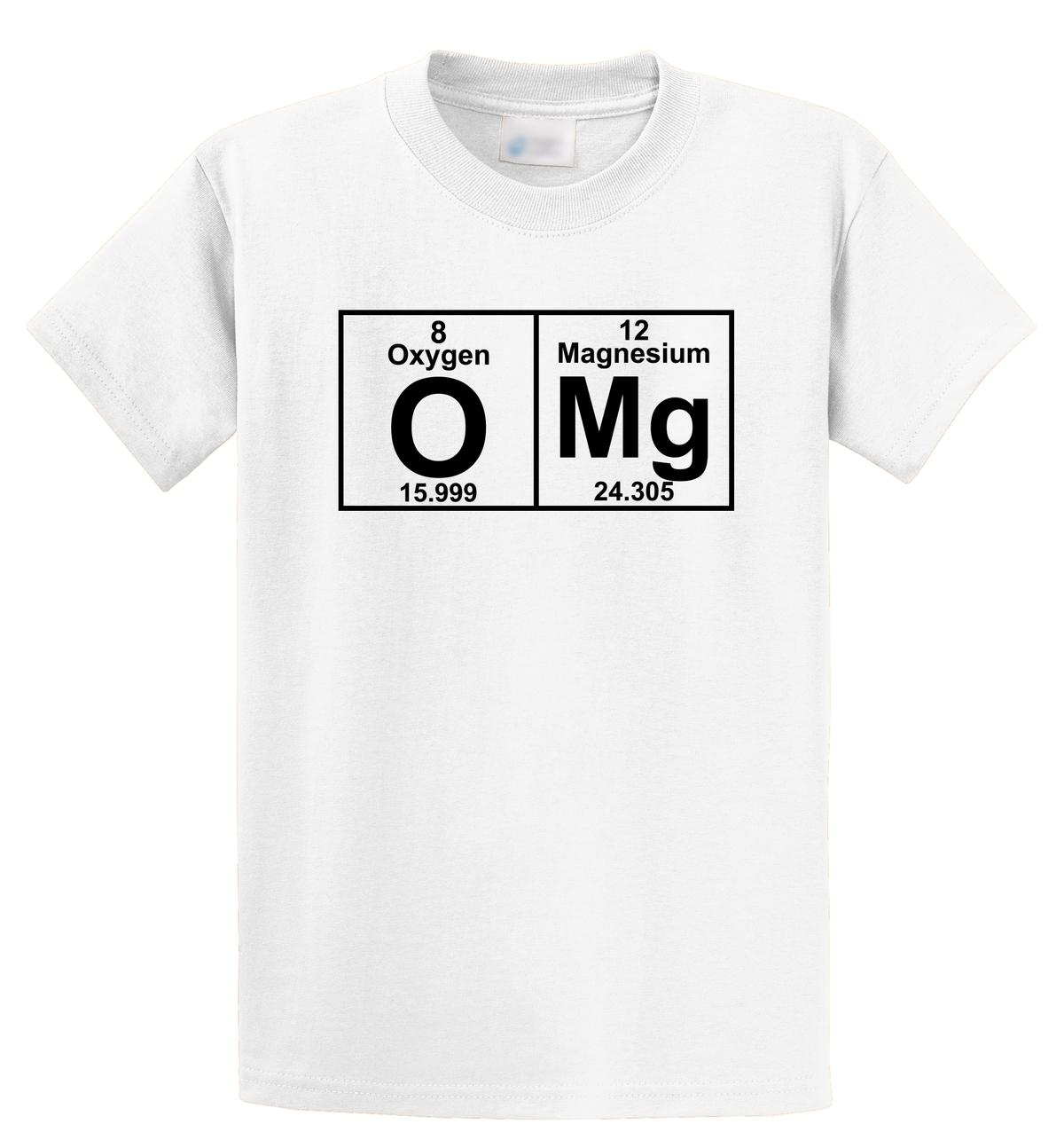 fc8eded9984 Funny Graphic T Shirts Regular Omg Periodic Table Cute Science Nerd Geek  College Short O Neck Tee Shirt For Men Mens T Shirts Funny Shirts From ...