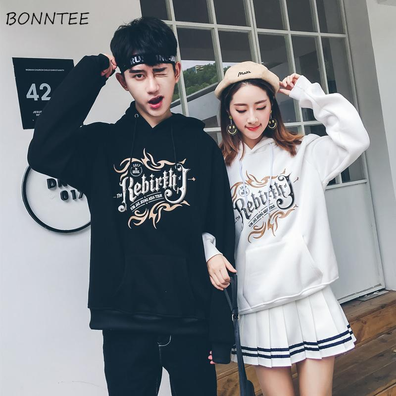 bf5dc8dd7e0 Hoodies Women Loose Simple Casual Hooded Harajuku Plus Velvet Warm ...
