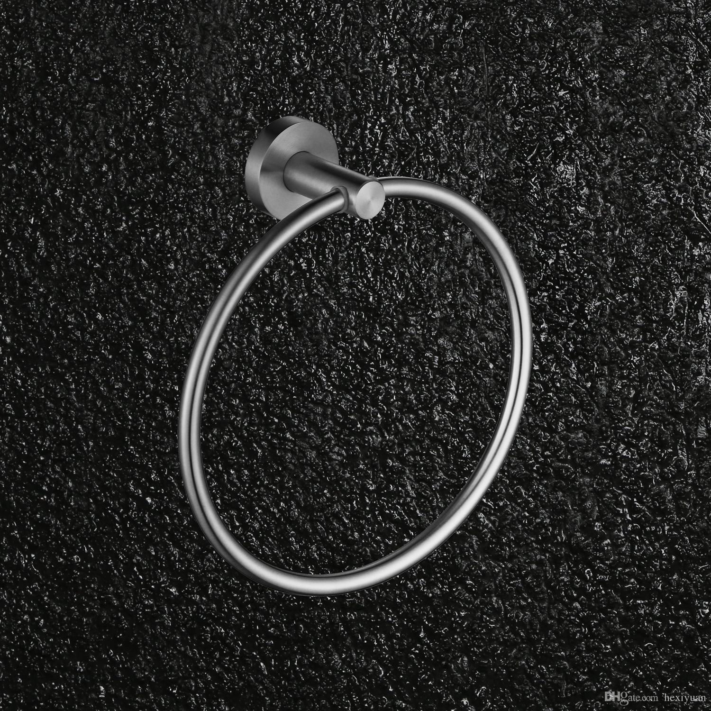 304 Stainless Steel Towel Ring Towel Rack Towel Ring Bathroom