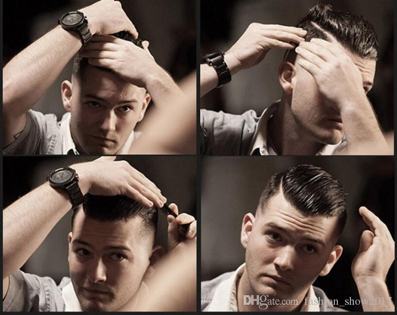 Pomade Saç Wax İskelet slicked Saç Yağı Wax Çamur Keep Saç Pomadı Men geri suavecito Pomade Güçlü Stil