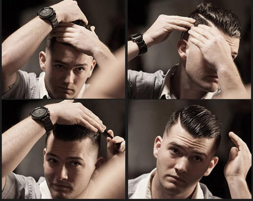SUAVecito Pomade Strong Style Restaurer Pomade Cheveux Cire Squelette Skeleton Slicked Cheveux Huile Huile de cire Gardez les cheveux Pomade Hommes