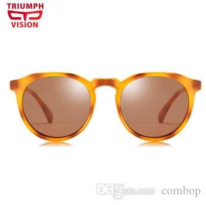 Compre Triumph Visão Polarizd Retro Rodada Óculos De Sol Das Mulheres Dos  Homens Unisex Projeto Da Tartaruga Do Vintage Pequenos Óculos De Sol Para  Os ... eb86feafc1