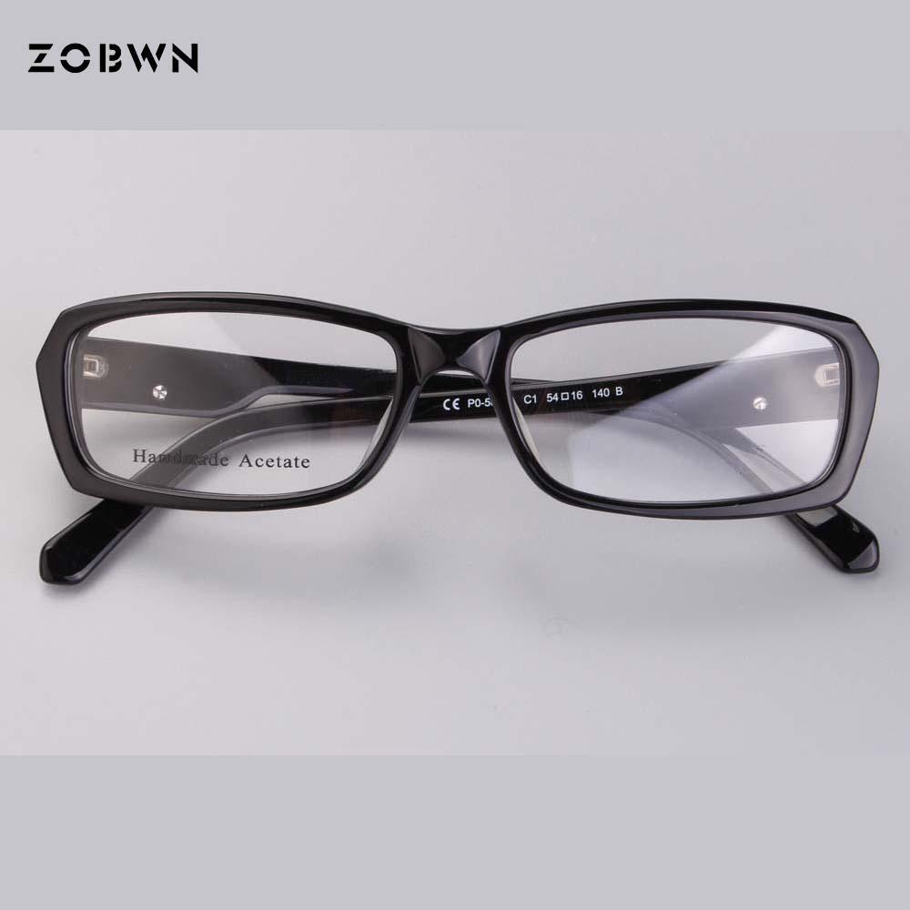 ef56c0fb19 Black Full Frame Eyewear Prescription Eyeglasses With Clear Lens ...