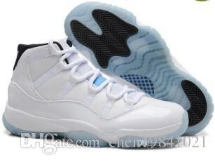 2018 nuevos 11 XI zapatos de baloncesto hombres y mujeres blancos Olympic Concord Gamma Blue Varsity Red Navy Gum Sneaker zapatillas de deporte de oro metálico