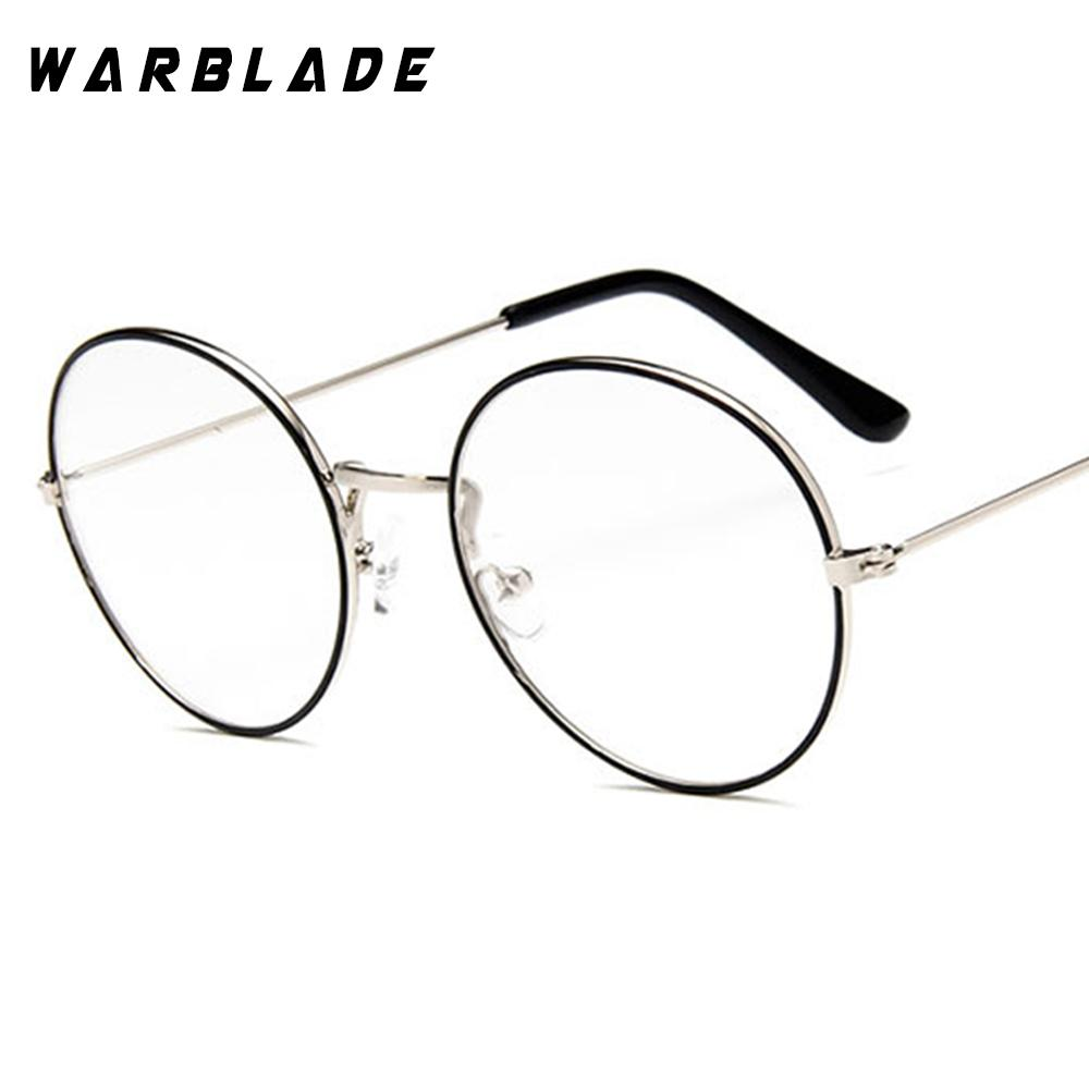 704215cdfa0 2019 2018 Fashion Glasses Frame Men Women Retro Vintage Decorative Frames  Clear Lenses Round Glass Frame De Grau WarBLade From Fashionable16