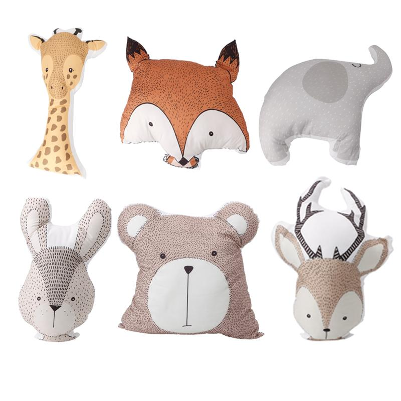 2019 Infant Baby Toddler Cute Sika Deer Bear Rabbit Elephant Fox