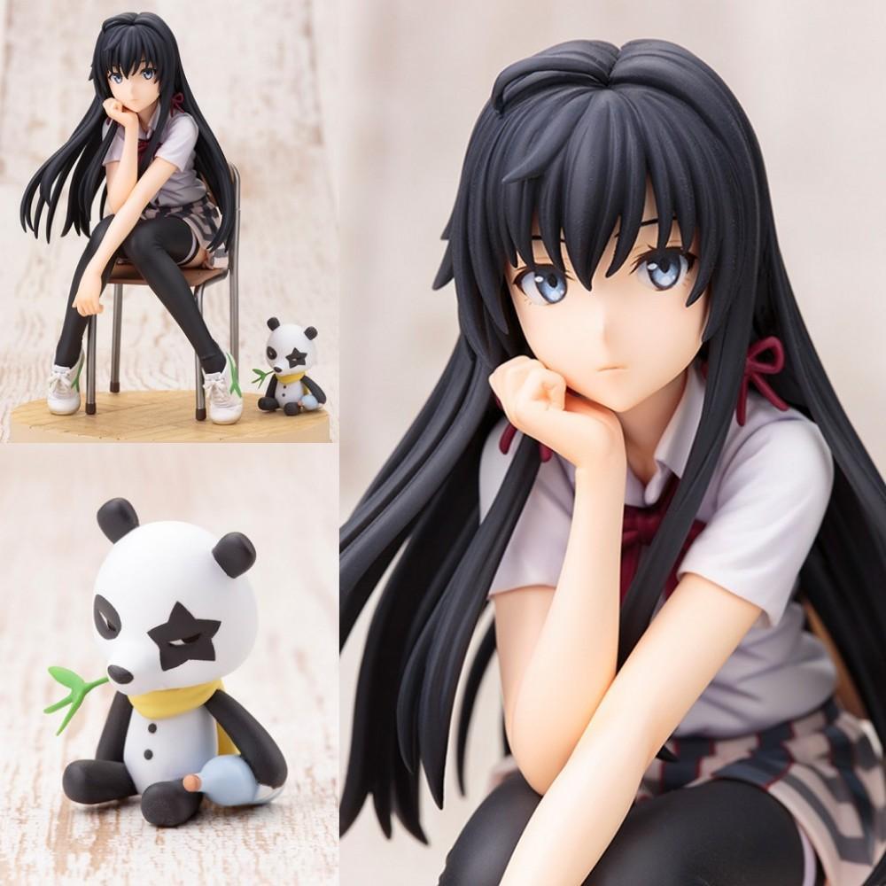 Anime Benim Genç Romantik Komedi SNAFU Hamachi OreGairu Yuigahama Yui Yukinoshita Yukino Eylem Şekil Koleksiyon İyi Hediye Oyuncak