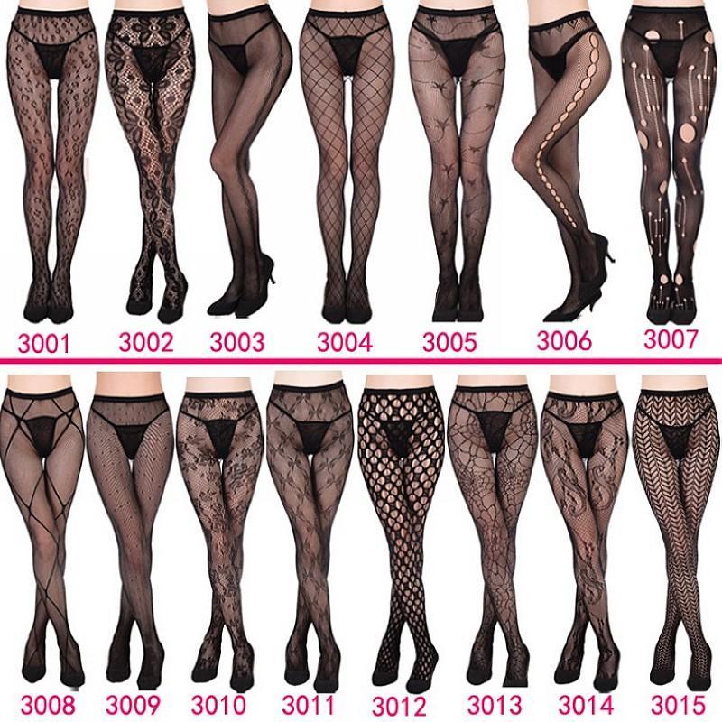 548ff2f2a1e 2019 Women S Sexy Fishnet Tights Jacquard Weave Pantyhose