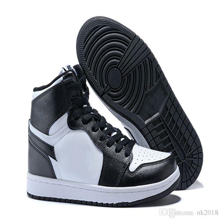 0c06748f0e7 Compre Nike Air Jordan 1 Aj 1 Dhl Igh Calidad Zapatillas De Deporte De Los  Hombres Al Aire Libre Chicago Campeón 1c Negro Rojo Y Blanco Chico  Zapatillas Hi ...