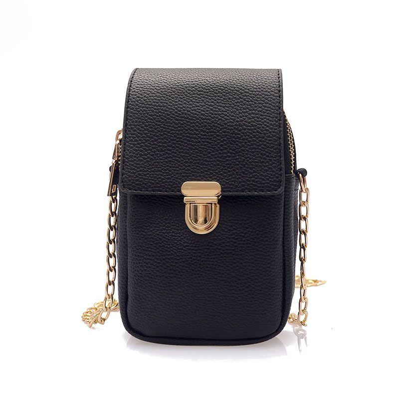 904cfbcd4a Women S Chain Shoulder Bag Mobile Phone Bag Fashion Messenger Girl Simple  Coin Purse Ladies Handbag Women Purse Money Fiorelli Handbags Discount  Designer ...