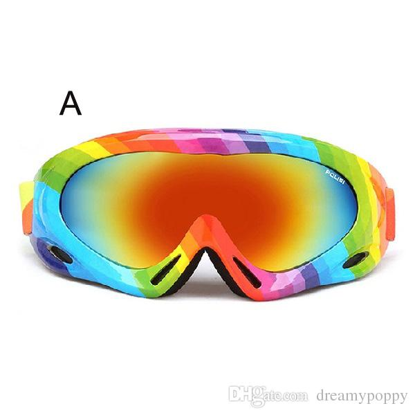 0f871c5ab27 Wholesale High Quality UV400 Anti-fog Ski Goggles Snow Skiing ...
