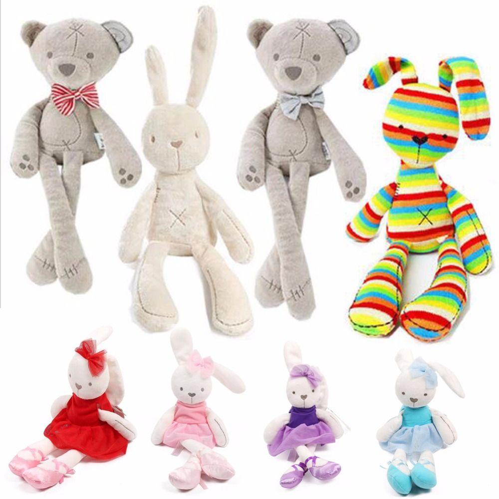 del Brinquedos bambino dell'orso della coniglietto coniglio di all'ingrosso del peluche del Sonno molle TOkXZulPiw