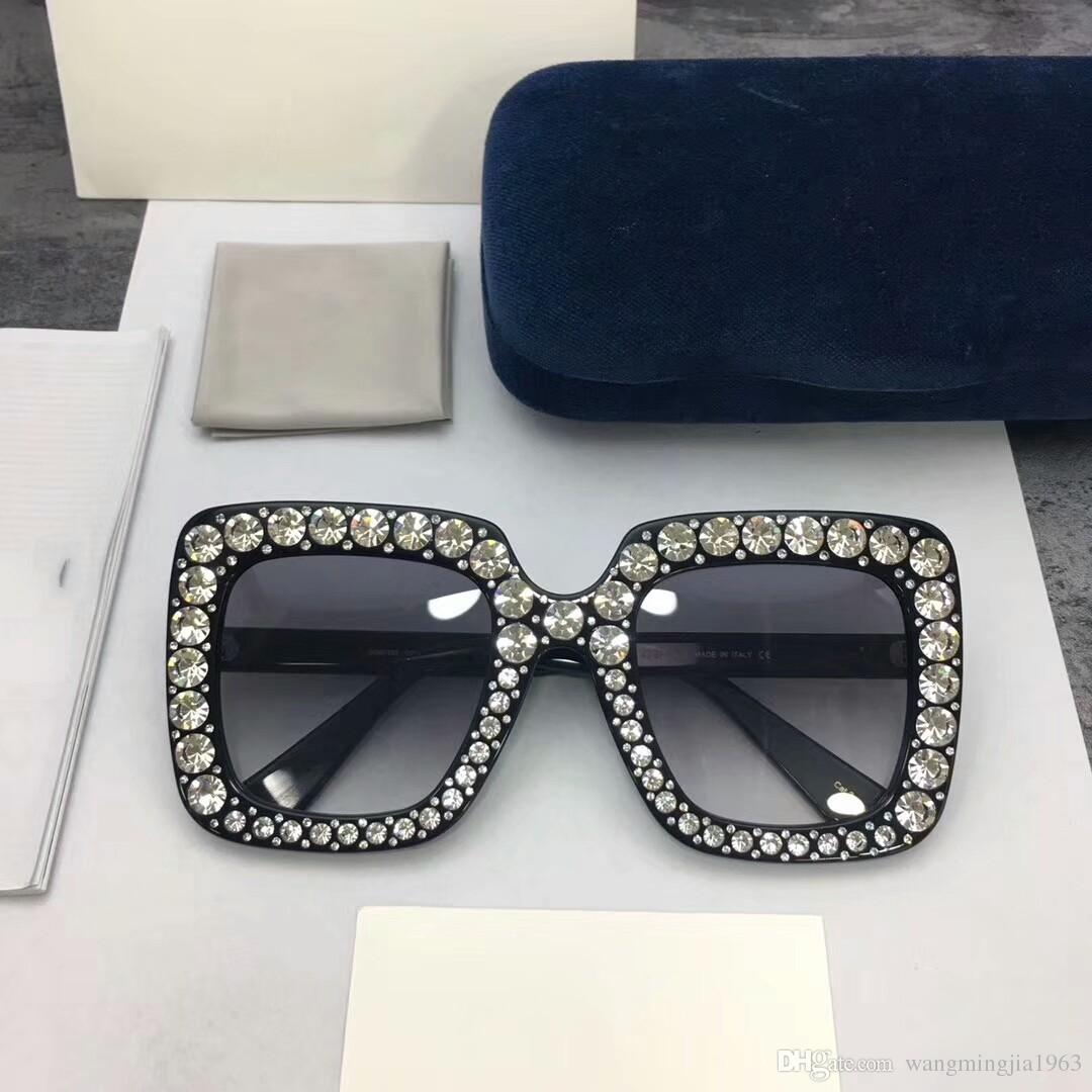 Kadınlar için En Kaliteli Bayan Erkek Güneş Gözlüğü 0148 Erkekler Güneş Gözlükleri Moda Stil Gözleri Koruyucular Kılıfı Ile UV400 Lens
