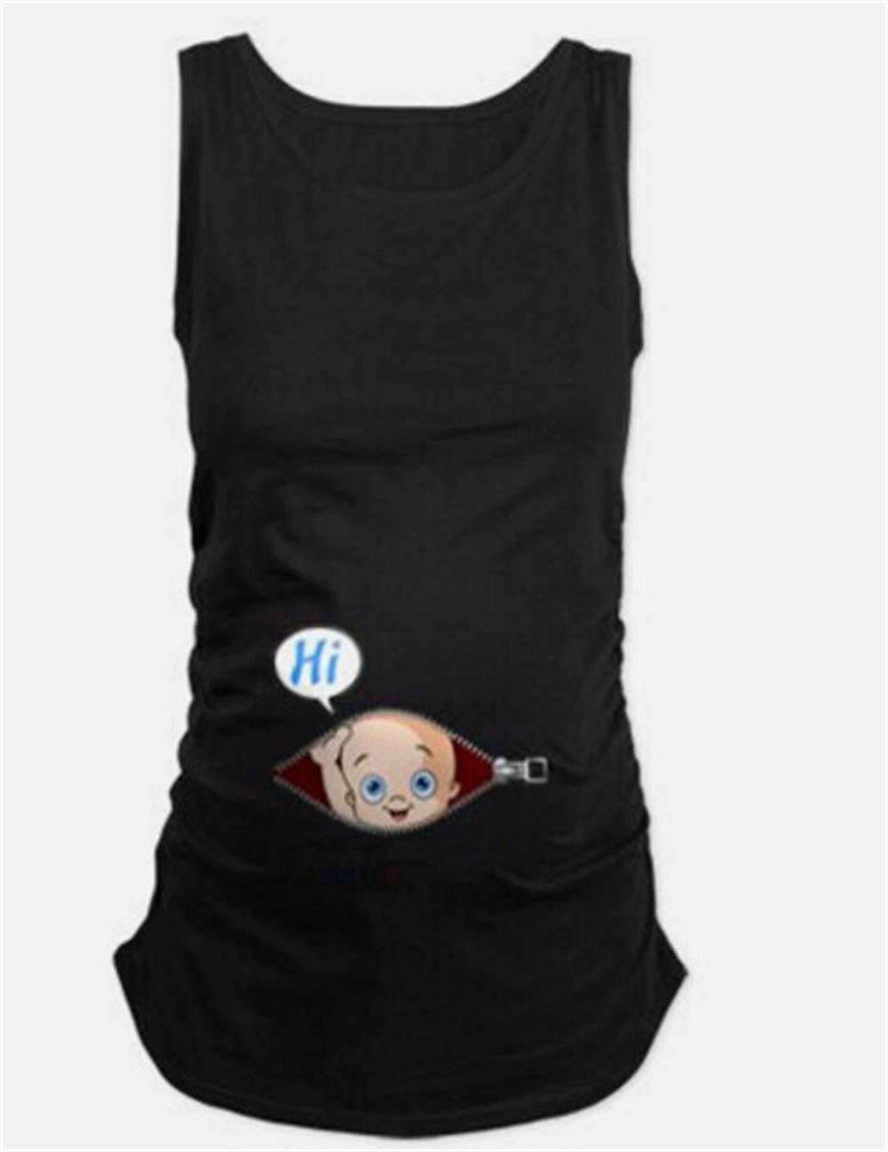 b9f8d8aafd342 EASY BIG Summer Original Pregnant Women T-shirts Maternity Tees ...