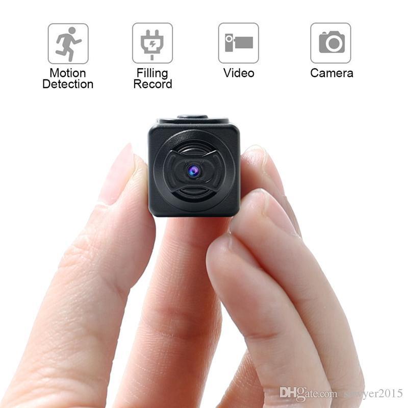 Full HD 960P Micro Camera S5 Motion Sensor DVR Camcorder Portable Sports Smart DV digital Voice video recorder support TF card