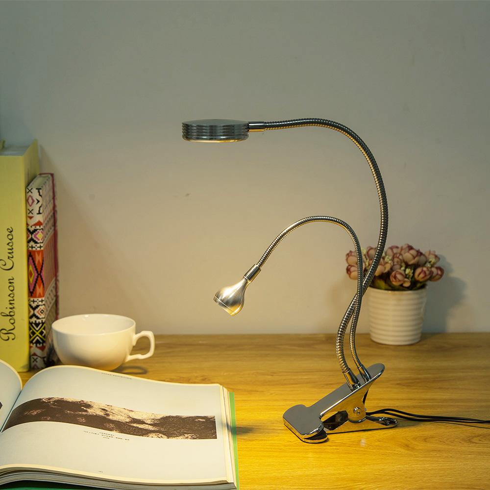 360 degree led table light decorate led desk lamp 4W with double book table lamp popular products