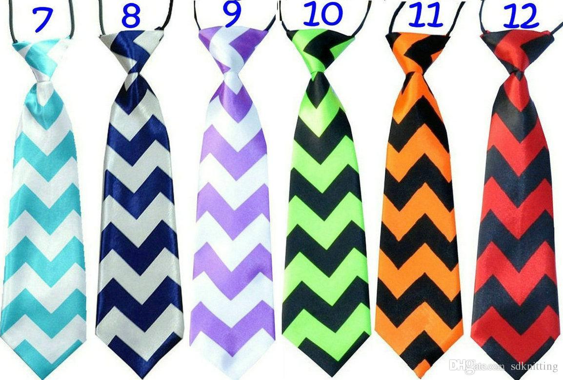 Liquidazione Bambini cravatta molti colori animali cuore punto striscia stampa ragazzi ragazze cerimonia performance party elastico semplice cravatta