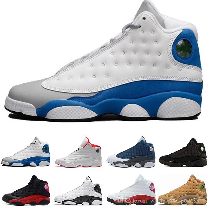 9e394d0ed14a Basketball Shoes 13 13s Chicago 3M GS Hyper Royal Italy Blue Brown ...