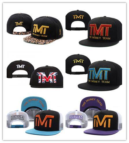 b096bf428 Free Shipping Mixed Cheap Snapback ball The Money Team Sports Basketball  Baseball Cap Adjustable Snapbacks Hip Hop Hats For Men Women