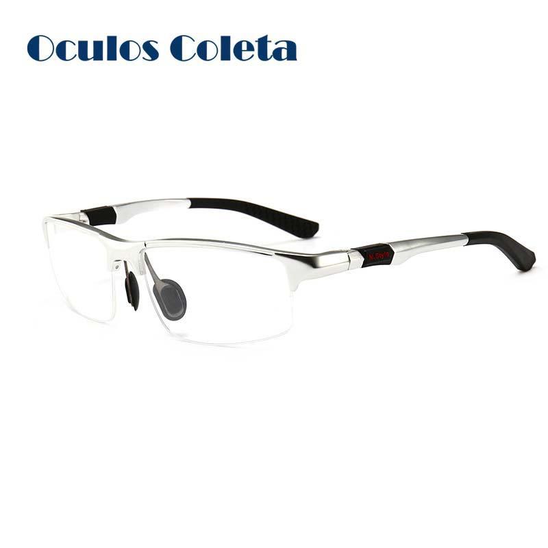 08c90e0368 Sport Prescription Glasses Frames For Men Aluminum Magnesium Eyewear ...