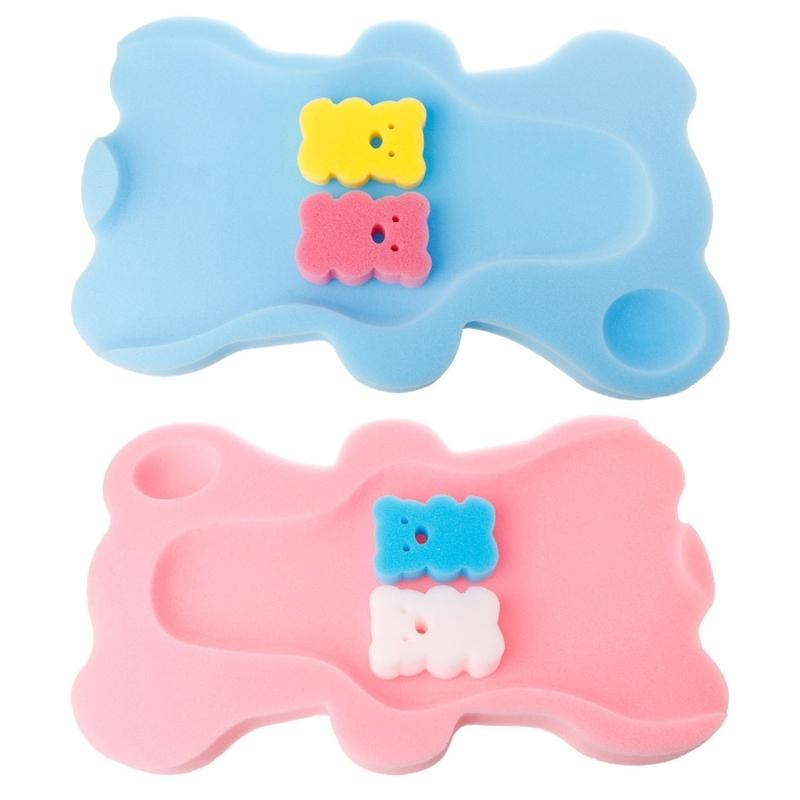 2018 Baby Bath Seat Infant Non Slip Soft Bath Foam Pad Mat Body ...