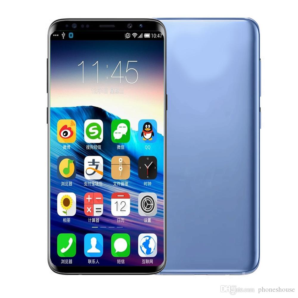 Goophone S9 S9p Smartphone Quadcore Android 1 Gb 4 Gb 8 Gb 16 Gb 58 62 Zoll Android Kunststoff Metallrahmen 800mp Kamera Moiblephone
