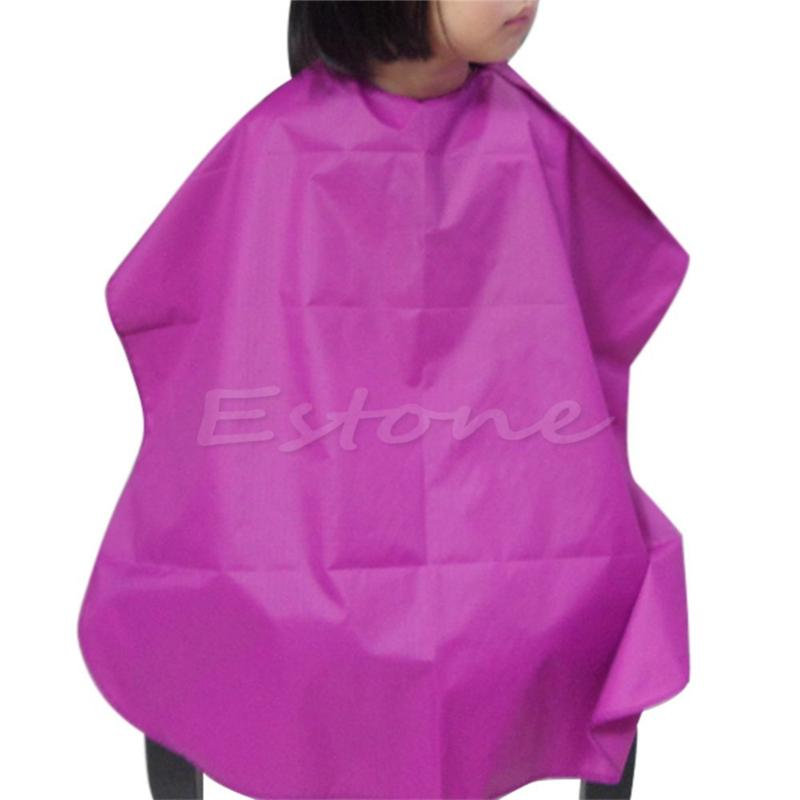 Children Salon Waterproof Barbers Cape Hair Cut Hairdressing Gown ...